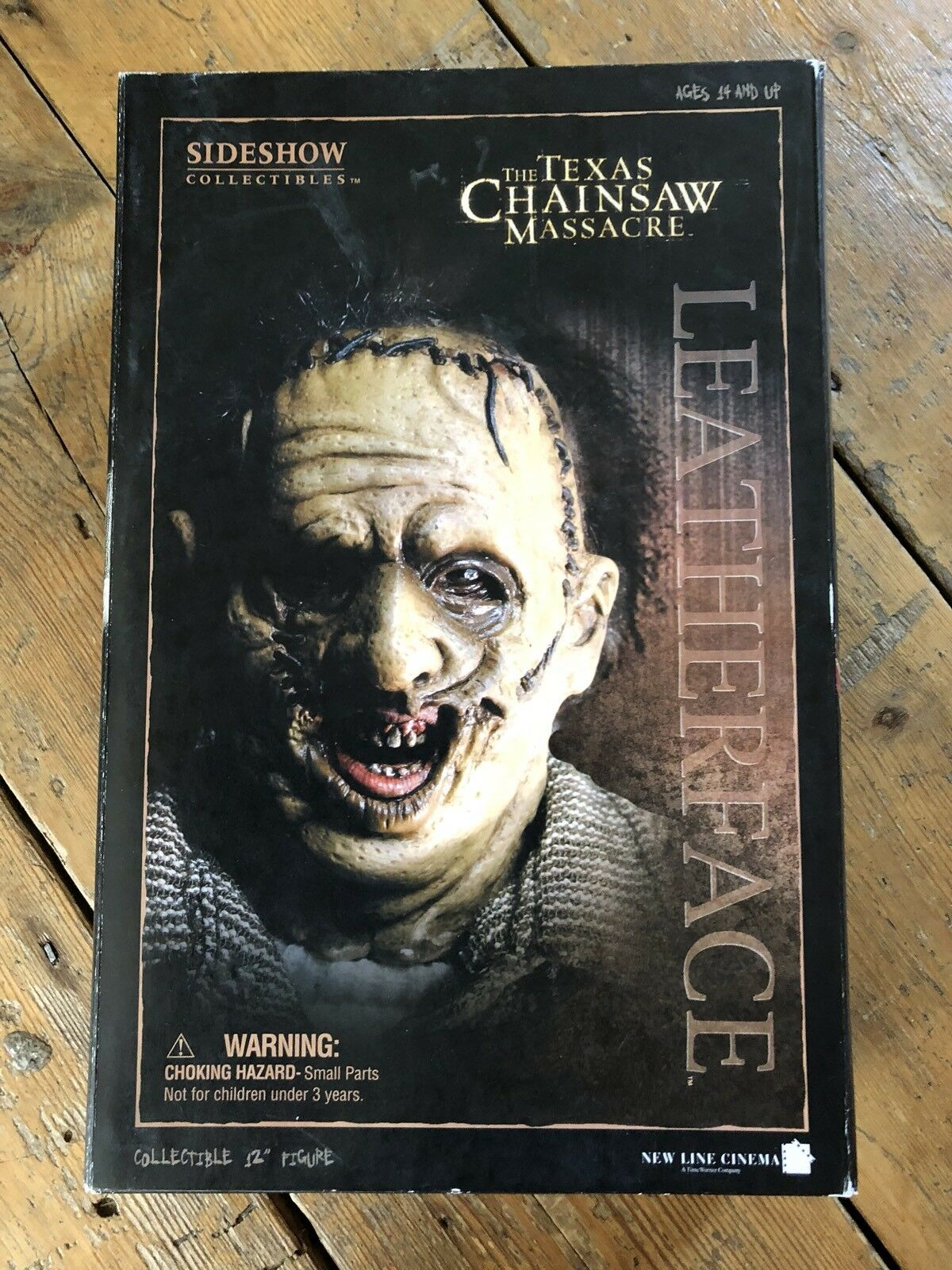 Sideshow Texas Chainsaw Massacre Leatherface Thomas Hewitt afssc 108