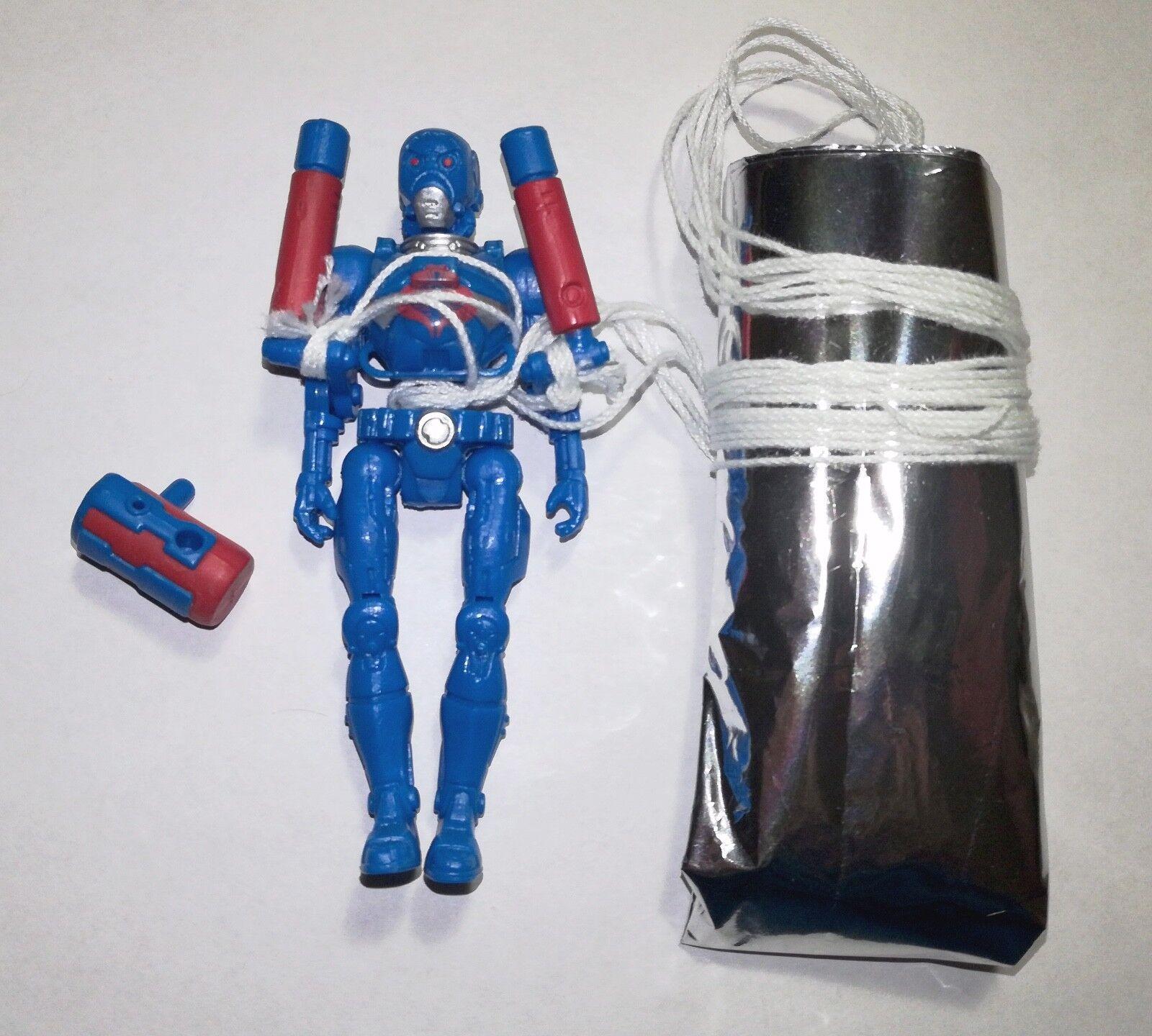G.I. Joe Cobra Sky Sky Sky Bat B.A.T. Parachute Figure Joe Con 2008 Convention Exclusive 9ab3cd