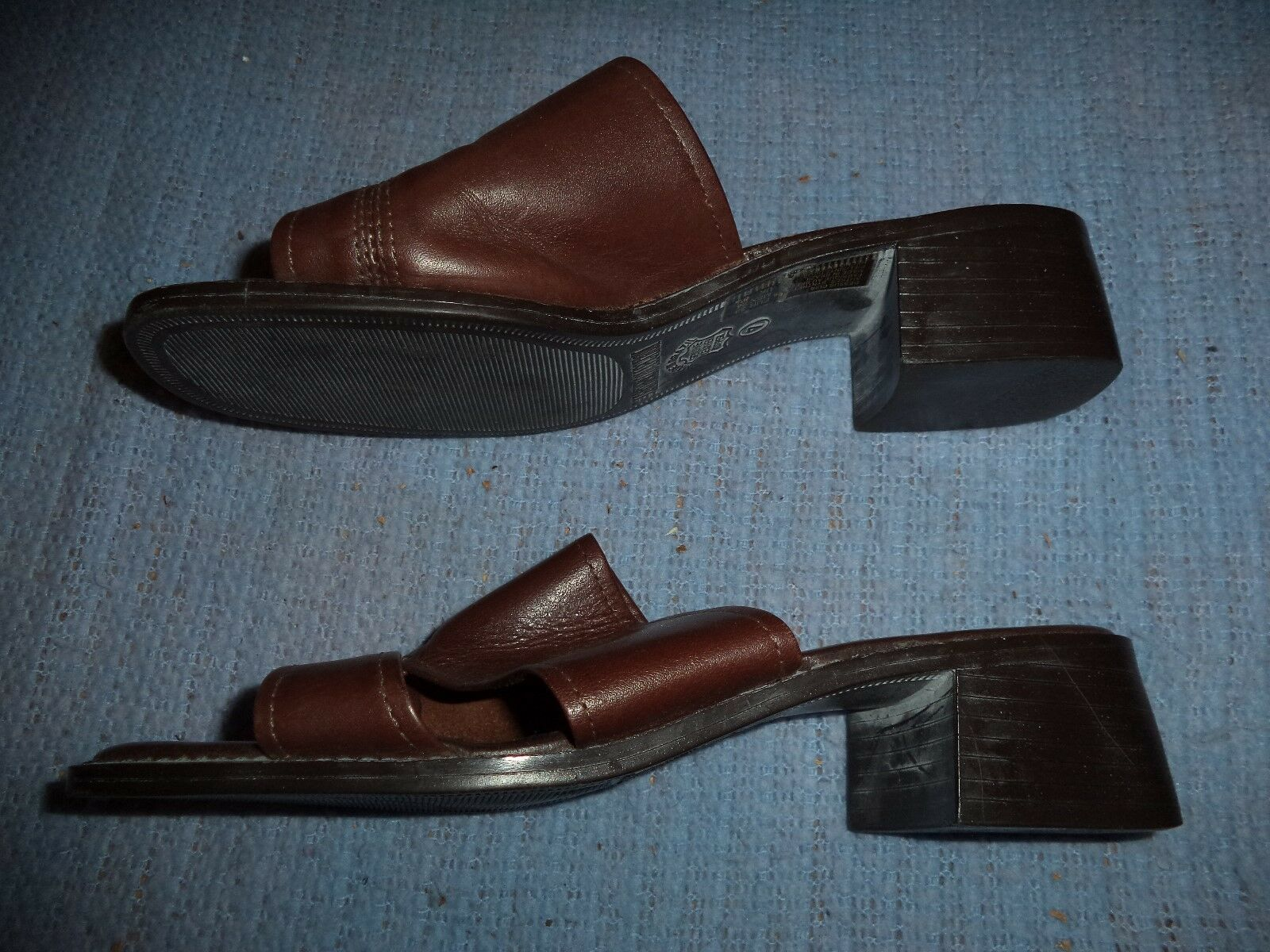 THE COLLECTION LEATHER COLLECTION THE SANDALS WOMEN'S SIZE 7 bbc4bf