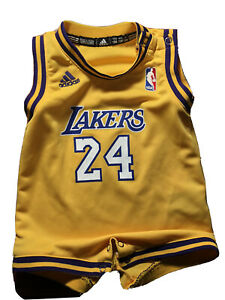Raro Adidas Kobe Bryant Lakers #24 Bebé Niño Jersey 12 meses | eBay