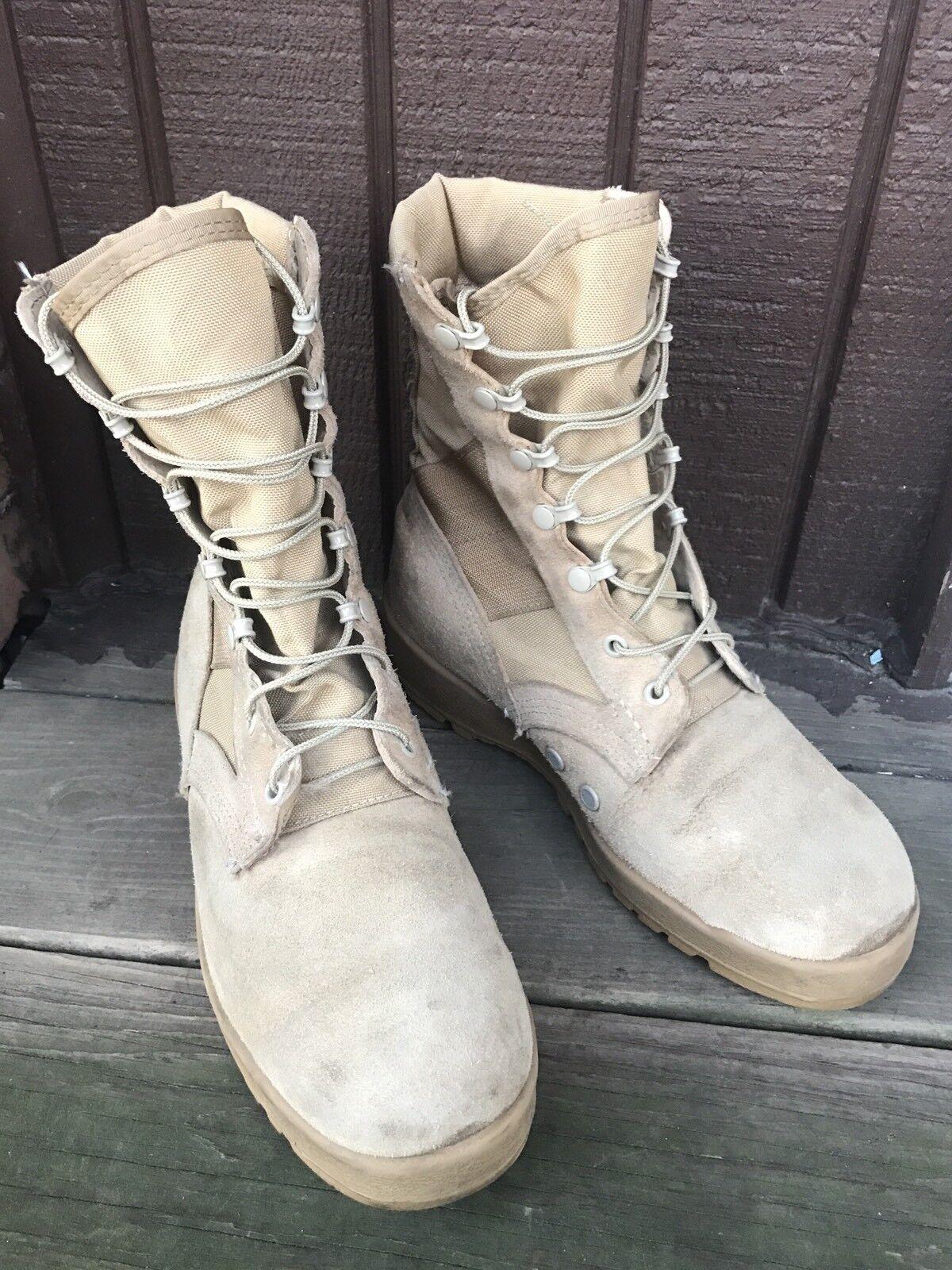 Uomo McRae 7W Footwear DesertTan Pelle Sz 7W McRae 8