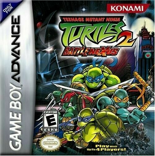 Teenage Mutant Ninja Turtles 2 Battle Nexus Game Boy Advance For Sale Online Ebay