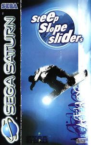 Steep-Slope-Sliders-mit-OVP-SEGA-SATURN-Spiel-TOP