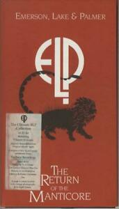 4CD-Box-Emerson-Lake-amp-Palmer-The-Return-Of-The-Manticore-1996-UK-Original