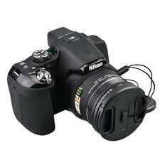 62mm Lens Adapter UV Filter Cap & Cap holder F Nikon Coolpix P520 P530 P510 P540