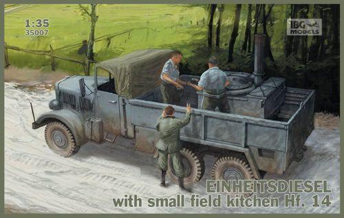 IBG 1 35 Einheitsdiesel with Small Field Kitchen Hf. 14