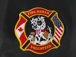 USA Fire Rehab Volunteer Patch ** NEWLY RELEASED ** Canada