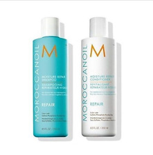 Moroccanoil Moisture Repair Shampoo and Conditioner 8.5 oz Damaged Color Safe
