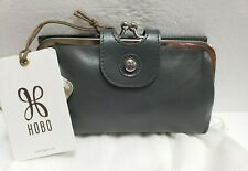 Taupe Nwt Women/'s Hobo International Leather Wallet Taylor Ash