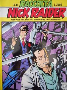 100% De Qualité Raccolta Nick Raider N°14 Ed. Bonelli [g.234]