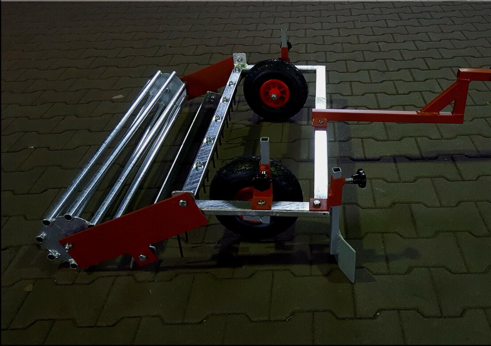 Kalio1000 Reitplatzplaner Reitbahnplaner -inkl. Räder mit Öse