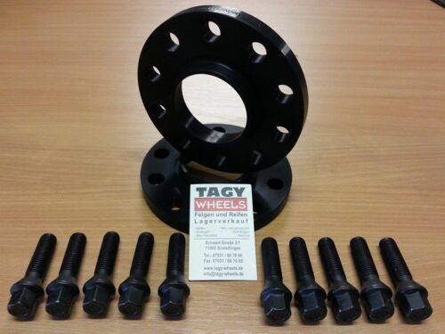 Bmw e90 e91 e92 e93 h/&r distancia cristales ensanchamiento 30mm Black Edition