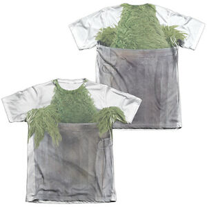 Details About Sesame Street Oscar The Grouch Costume Halloween Men S Tee Shirt Sm 3xl