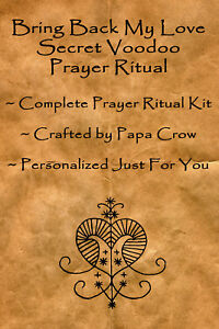 Details about Bring Back Love Secret Voodoo Prayer Ritual Kit Return Lover  Heal Relationship