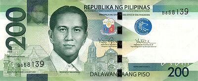 200 PHP Philippine pesos NGC (new style) crisp ...