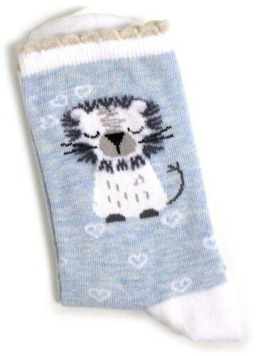 UU 6-10 Señoras León melena con calcetines azul pálido nunca más lindo UK 4-8 EUR 37-42 EE