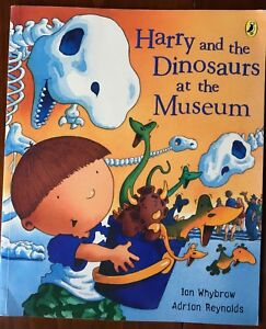 Harry-and-the-Dinosaurs-at-the-Museum-Ian-Whybrow-Paperback-Book-Childrens