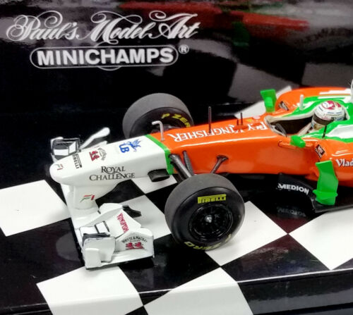 MINICHAMPS 143 2011 FORCE INDIA MERCEDES SHOWCAR ADRIAN SUTIL 410110084