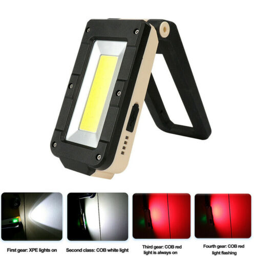 Battery Powered LED Work Light Portable 10W COB LED Inspection Lamp with Magnets