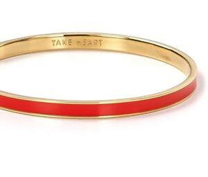 dba9c45a1ba6b Details about Kate Spade Take Heart Idiom Bracelet NWT Delicate Idiom  Beauty!