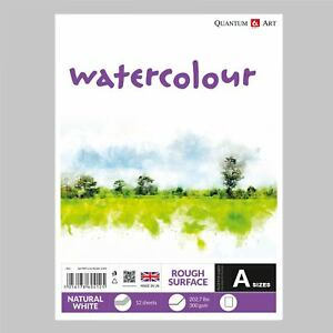 Watercolour-Rough-Surface-Pad-Drawing-Artist-Paper-GUMMED-Book-300gsm