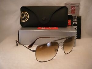 3bd61c77da Ray Ban COLONEL (RB3560-004 51 58) Gunmetal with Clear Gradient ...