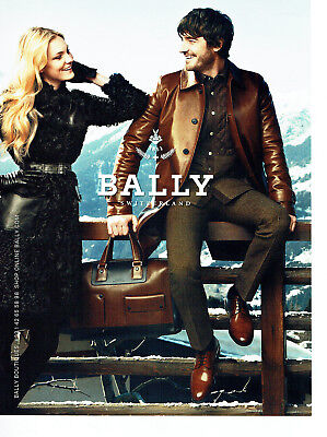 Publicité Advertising 078 2012 Bally Chaussures Maroquinerie Collectibles