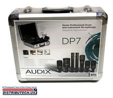 AUDIX DP7 - Professional Seven Piece Drum Microphone Kit DP-7 New-In-Box