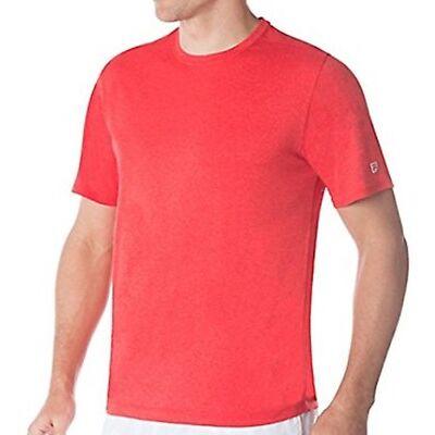 Fila Men's Short Sleeve Crew Neck Wicking T-Shirt Various Colors