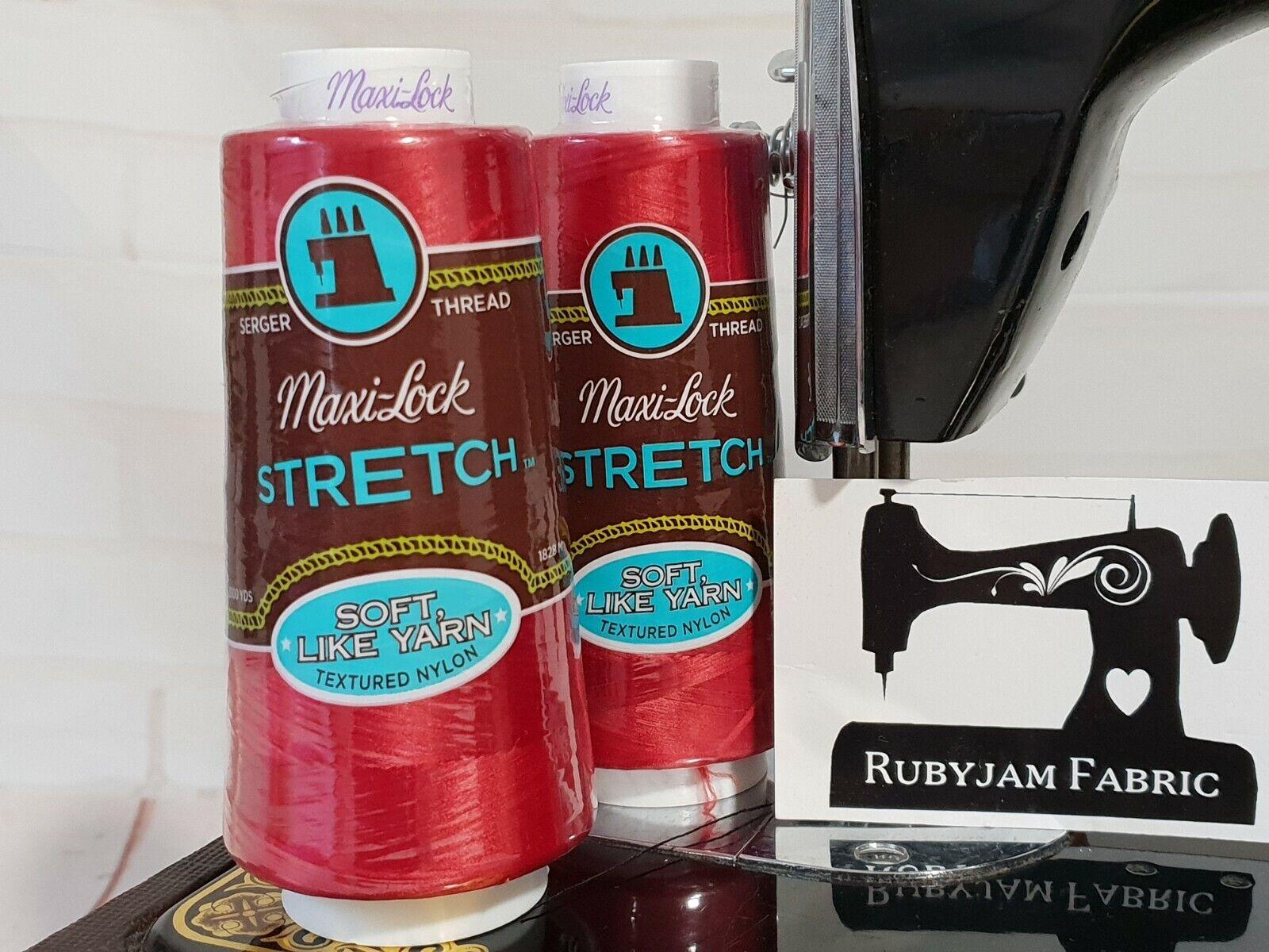 American /& Efird AME54.45136 Maxi Lock Stretch Poppy Red