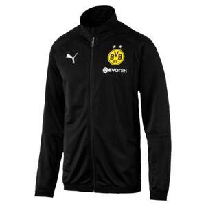 Image is loading Puma-Football-Soccer-Borussia-Dortmund-BVB-Mens-Full- 5dee6b7d3ef60