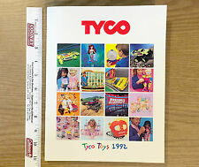 177pg 1992 TYCO TOYS TCR Slot Car Race Track Crash Dum +RC Radio Control Catalog