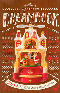 2014-Hallmark-Club-Edition-Dream-Book-95-Color-Pages-Brand-New-CDB2014
