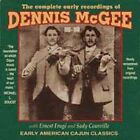 Complete Early Recordings 1929-1930 * by Dennis McGee (CD, Sep-1994, Yazoo)