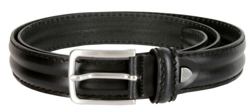 "Wide S067 Made in Italy Men/'s Italian Genuine Leather Dress Belt 1-1//8/"" 30mm"