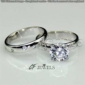 Excellent-2-05-CT-Off-White-Yellow-Moissanite-Ring-Wedding-925-Silver-Ring-T08