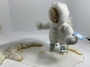Ashton-Drake-Follow-The-Leader-Doll-SnowBaby-Art-2-Dolls-With-Ice-And-Snow