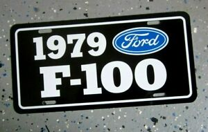 1979  Ford F-150 Pickup License plate tag 79  F150 Pick Up Truck Hot Rod Classic