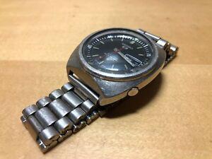 35ab11da052 Chargement de l image en cours Used-Vintage-Montre-Montre-SEIKO-5-Sports- Automatique-