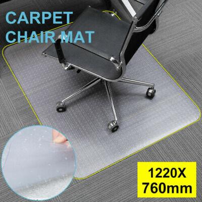 Shine Protective Hard Chair Transparent Mat Rectangular 91x122cm
