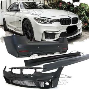 Complete Body Kit For Bmw F30 11 15 Series 3 M3 Look Pdc Bumper Side