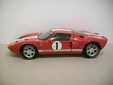 Rare 1:18 Scale Red 2002 Ford GT Concept Die-cast Car By The Beanstalk Group