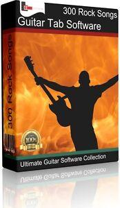 Détails sur 300 Greatest Hits Rock SONGS FOR BASS & GUITAR   étiquette DVD  + Tablature Song Book- afficher le titre d'origine