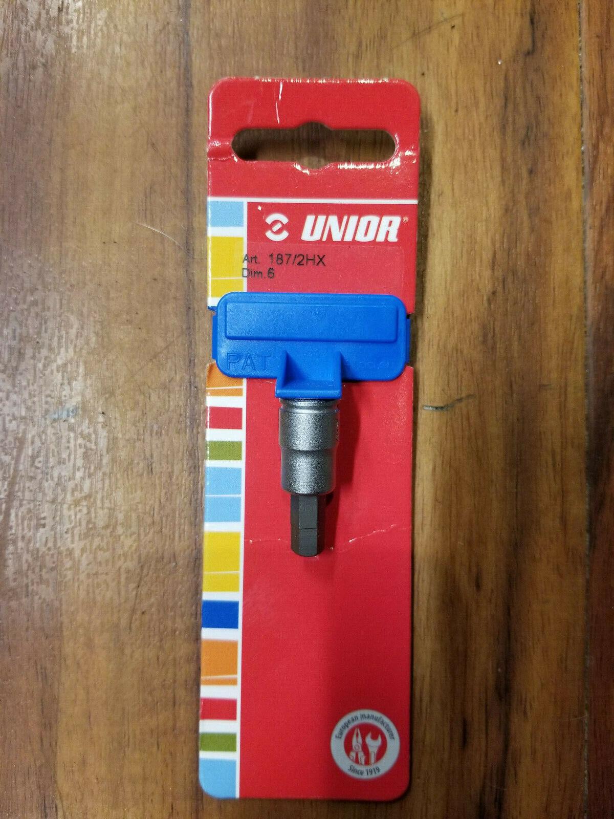Unior 1//4/″ Drive Metric Hex Bits
