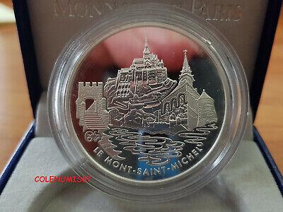 1,50 Euro Francia France Frankreich 2002 - Mont Saint-michel - Plata Silver