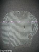 Pull Célio Lin Coton Col V Sweat T Mixte Homme Femme T-shirt Large Xxl Neuf