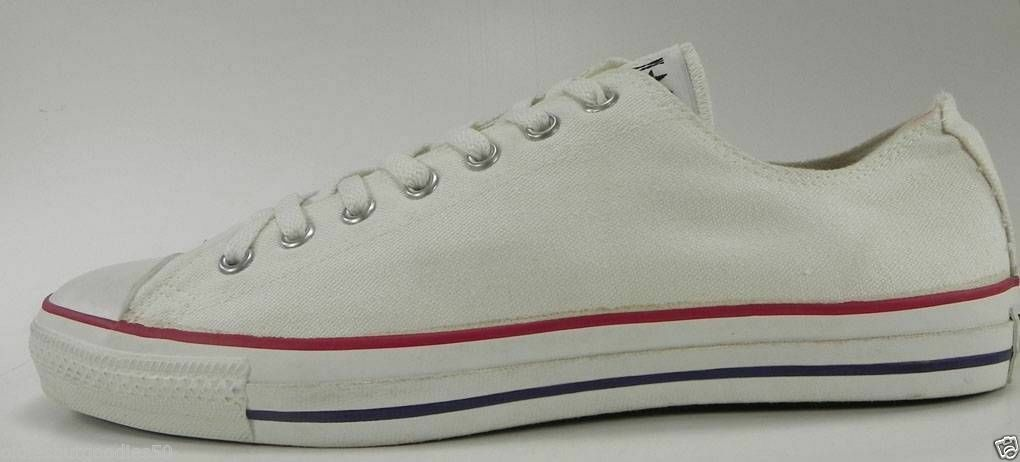 CONVERSE Men Shoes All Star Ox Low MADE IN USA Optical White Sneakers M7652