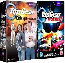 TOP GEAR CHALLENGES 1, 2, 3, 4 & 5 -  **BRAND NEW & SEALED DVDS**