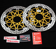 330mm Brembo HPK SuperSport Front Brake Discs Kawasaki ZX-10R + spacers & bolt