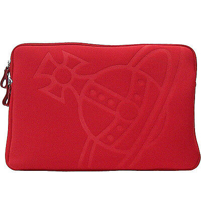 VIVIENNE WESTWOOD porta pc 17' rosso' pc case red